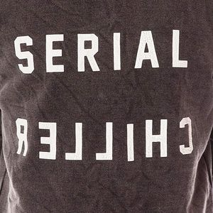 Urban Outfitters Serial Chiller Gray Tee Small